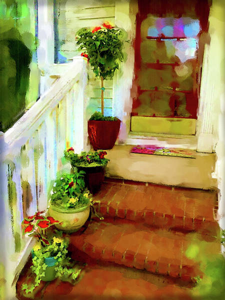 Digital Art - Spring Welcome by Gina Harrison