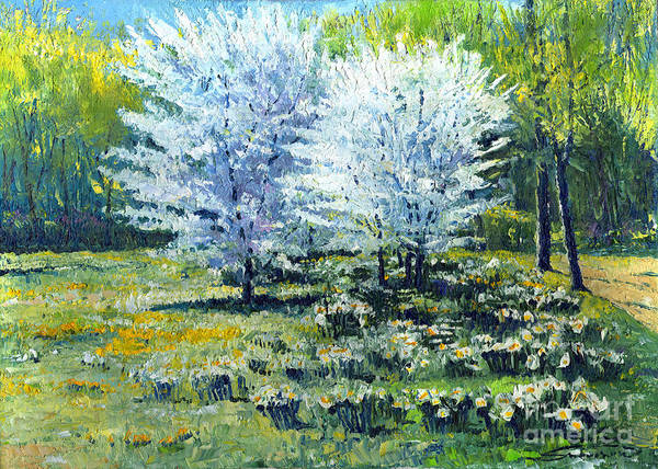 Baden Wall Art - Painting - Spring by Yuriy Shevchuk