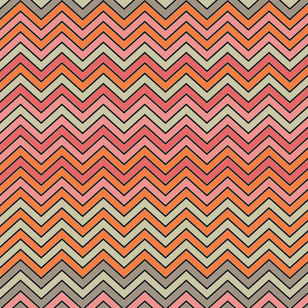 Wall Art - Digital Art - Spring Zigzags by Bonnie Bruno
