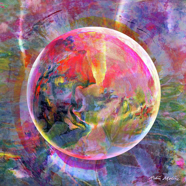 Digital Art - Spring Zing  by Robin Moline