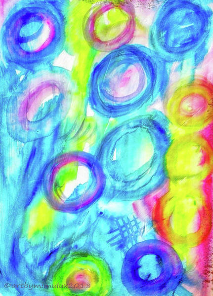 Painting - Springfeelings by Mimulux patricia No