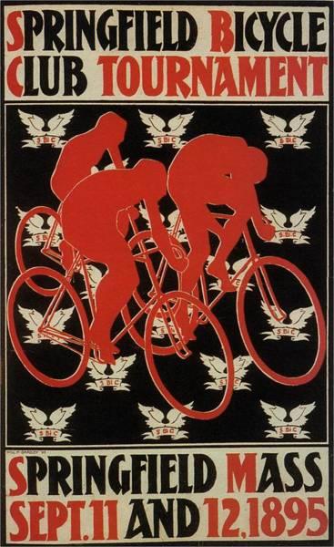 Championship Mixed Media - Springfield Bicycle Club Tournament - Usa - Vintage Advertising Poster by Studio Grafiikka