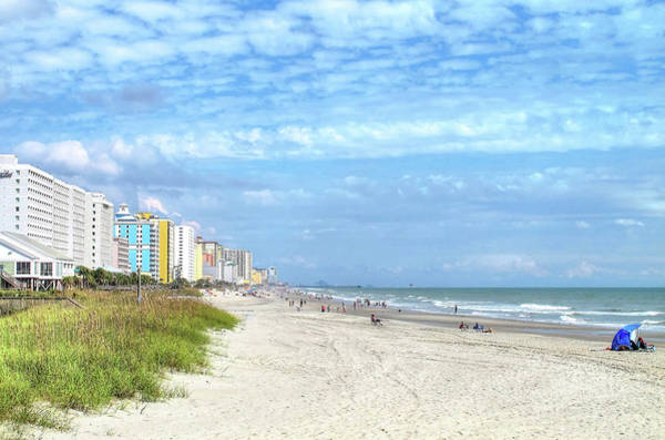 Photograph - Springmaid Beach by Ree Reid