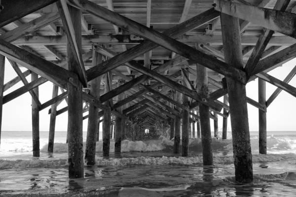 Myrtle Beach Wall Art - Photograph - Springmaid Pier In Myrtle Beach South Carolina by Stephanie McDowell