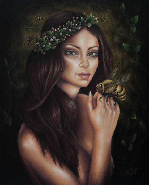Painting - Spring's Mother by Luis Parreira