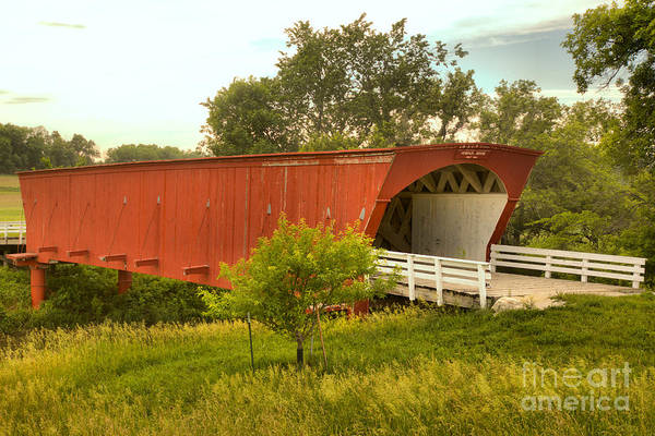Photograph - Springtime At The Hogback Covered Bridge by Adam Jewell