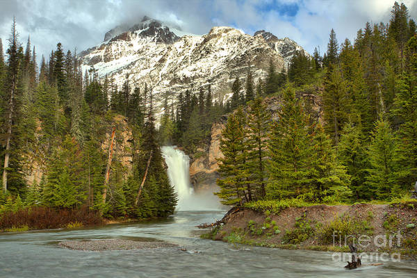 Photograph - Springtime At Trick Falls by Adam Jewell