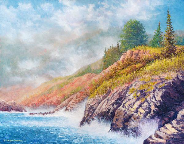 Painting - Springtime Coast by Douglas Castleman