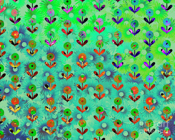 Digital Art - Springtime by Edmund Nagele