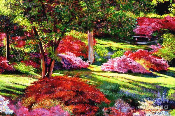 Painting - Springtime For Azaleas by David Lloyd Glover
