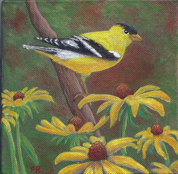 Painting - Springtime Gold by Fran Brooks