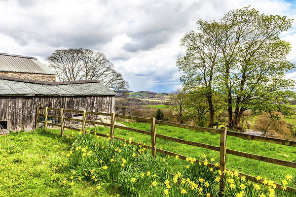 Wall Art - Photograph - Springtime In Lancashire by W Chris Fooshee