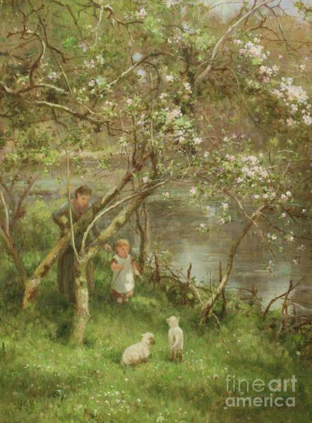 Painting - Springtime by James George Bingley