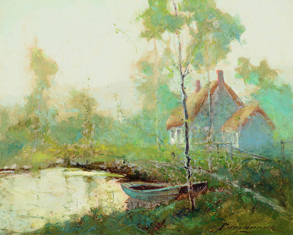 Wall Art - Painting - Springtime by Sydney Mortimer Laurence