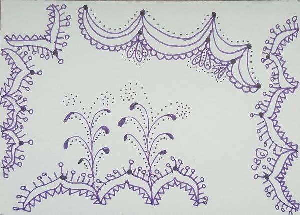 Drawing - Sprinkler by Carole Breccht