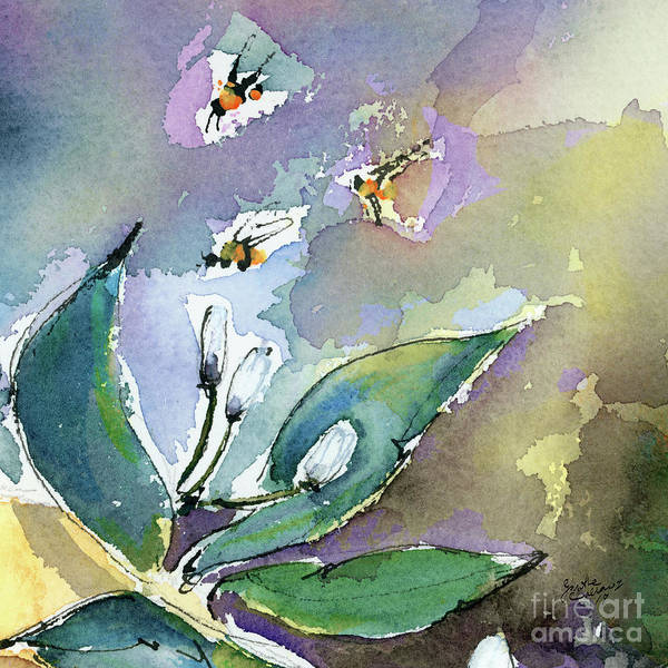 Painting - Sprint Fever Watercolor And Ink by Ginette Callaway