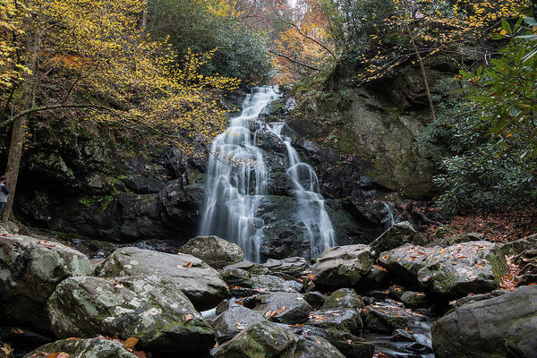 Photograph - Spruce Flats Falls In Early November by Chris Berrier