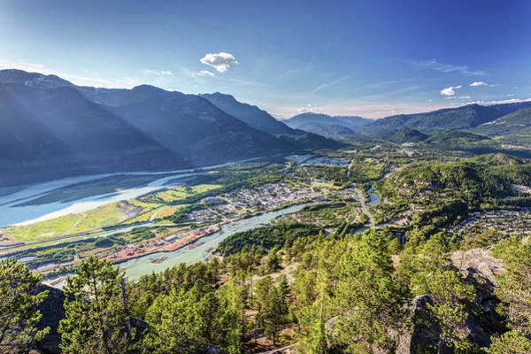 Photograph - Squamish From The Summit Of The Chief by Pierre Leclerc Photography