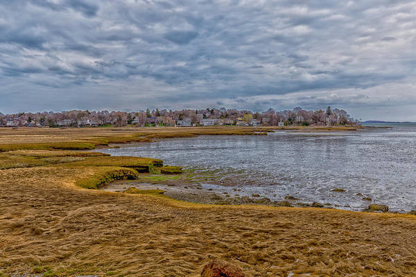 Photograph - Squantum Marshes by Brian MacLean