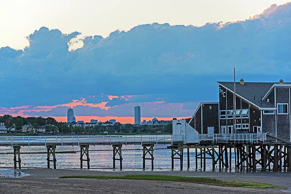 Photograph - Squantum Yacht Club Quincy Ma by Toby McGuire