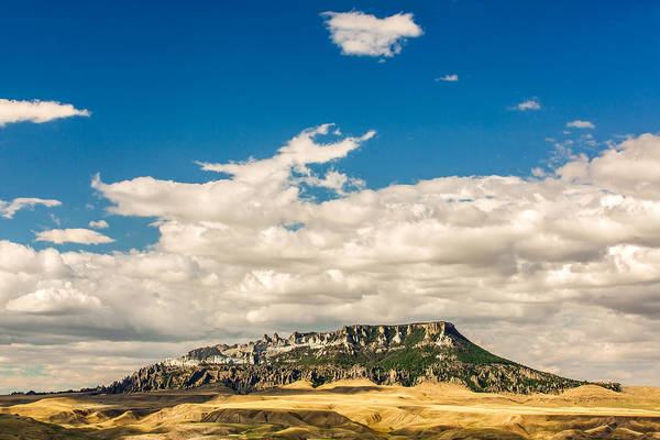 Photograph - Square Butte by Todd Klassy