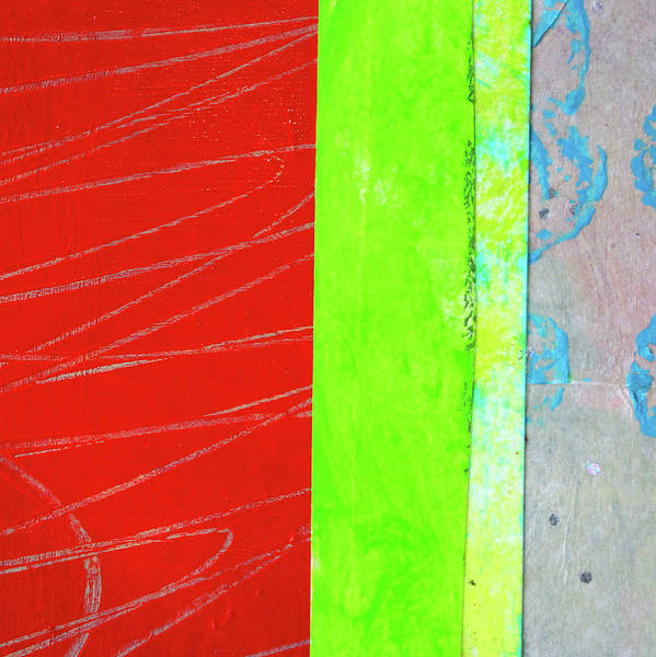Scribble Painting - Square Collage No. 5 by Nancy Merkle