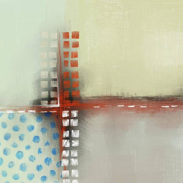 Mixed Media - Square The Circles by Eduardo Tavares