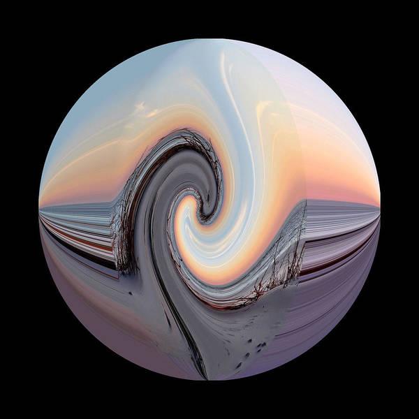 Photograph - Square Waveland Beach Orb by Kathy K McClellan