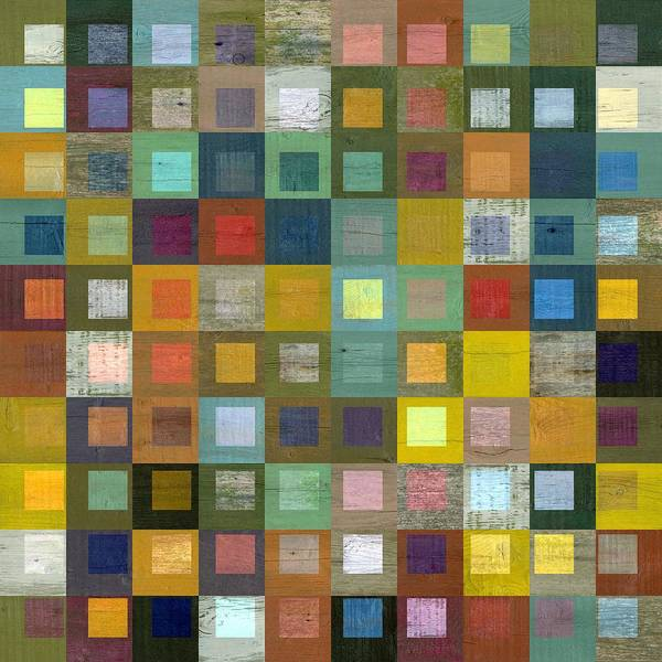 Digital Art - Squares In Squares Five by Michelle Calkins
