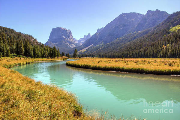 Photograph - Squaretop Mountain And Green River by Spencer Baugh