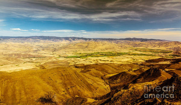 Haybale Wall Art - Photograph - Squaw Butte View Hdr-2 by Robert Bales