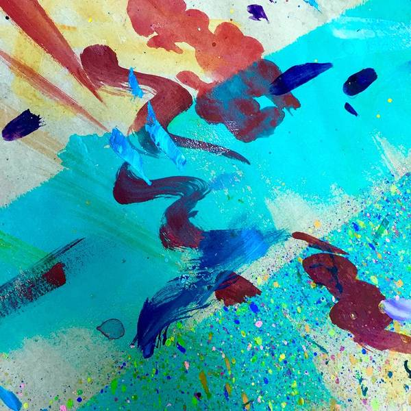 Painting - Squiggles And Stripes by Darice Machel McGuire