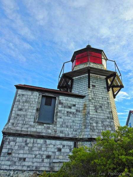 Photograph - Squirrel Point Lighthouse by Teri Ridlon