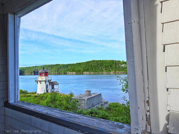 Photograph - Squirrel Point View From The Deck by Teri Ridlon