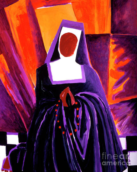 Painting - Sr. Thea Bowman - Give Me That Old Time Religion - Mmgmt by Br Mickey McGrath OSFS