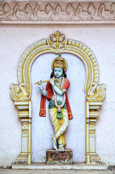 Wall Art - Photograph - Sri Krishna Temple Statue by Tim Gainey