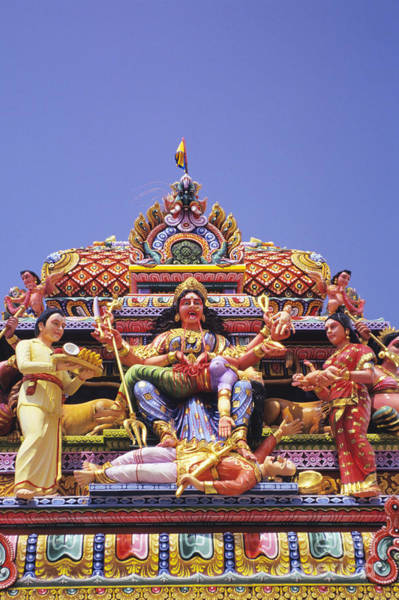 Adorn Photograph - Sri Krishnan Temple by Gloria and Richard Maschmeyer - Printscapes