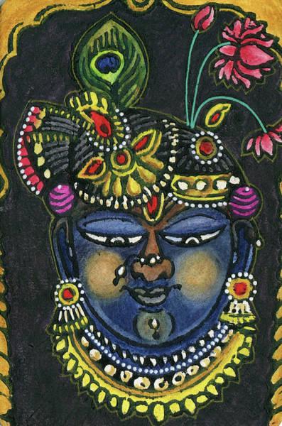 Wall Art - Mixed Media - Sri Nathji by Jennifer Mazzucco