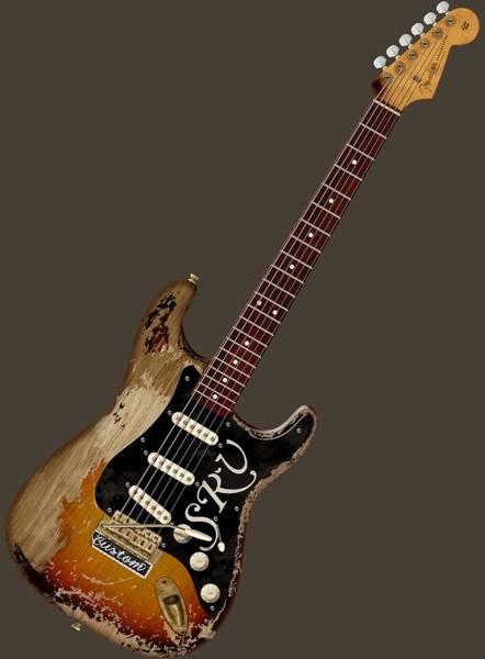 Strat Photograph - Srv Number One by WB Johnston