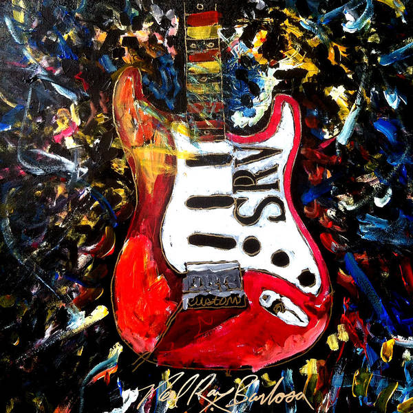 Painting - Srv Strat by Neal Barbosa