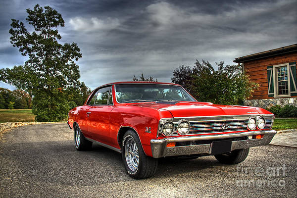 Chevy Chevelle Wall Art - Photograph - Ss 396 Chevelle by Tim Wilson