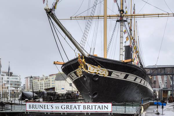 Dry Dock Photograph - Ss Great Britain - Bristol by Joana Kruse