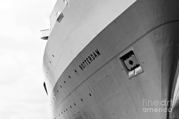 Holland America Line Wall Art - Photograph - Ss Rotterdam Abstract by Dean Harte