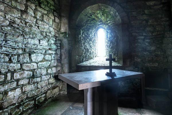 Studland Photograph - St Adhelm's Chapel - England by Joana Kruse