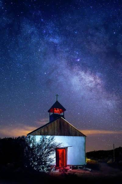 Photograph - St. Agnes Under The Stars by Harriet Feagin