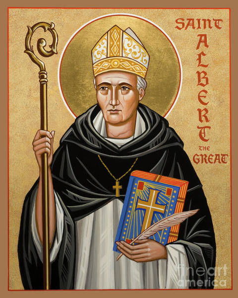 Painting - St. Albert The Great - Jcatg by Joan Cole