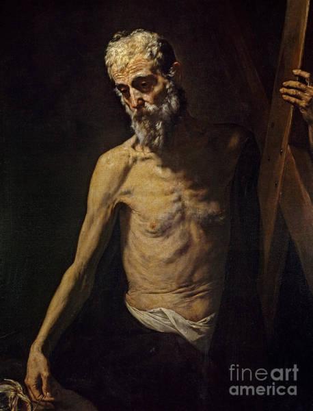 Disciple Wall Art - Photograph - St Andrew by Jusepe de Ribera
