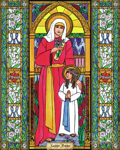 Painting - St. Anne by Brenda Nippert