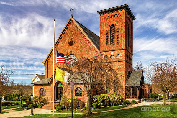 Photograph - St Anns Catholic Chruch by Nick Zelinsky