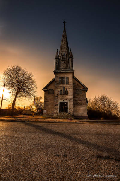 Abandonment Photograph - St. Ansgarius Anglican And Our Saviour's Lutheran Church by Jakub Sisak